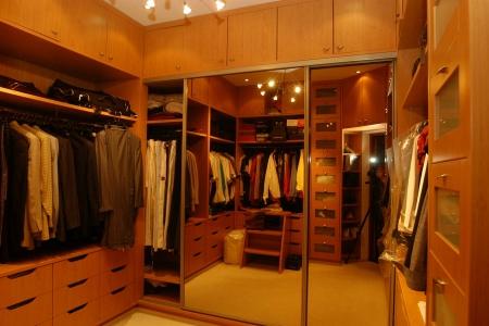 Гардеробная для одежды