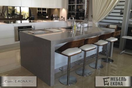 Современна барная стойка для кухни