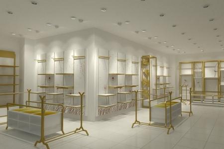 Красивая торговая мебель