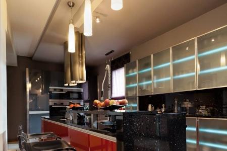 Современная барная стойка для кухни