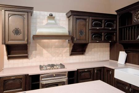 Кухня массив с фрезеровкой