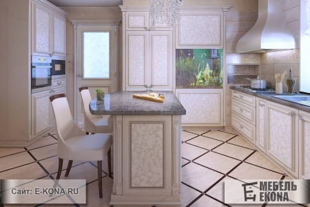 Красива кухня с декором