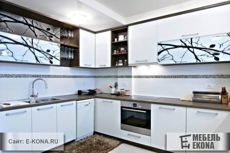 Фасады с фотопечатью для кухни