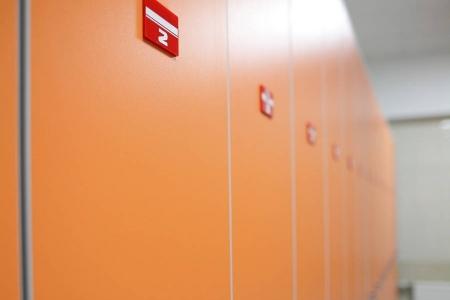 Шкафы для раздевалки